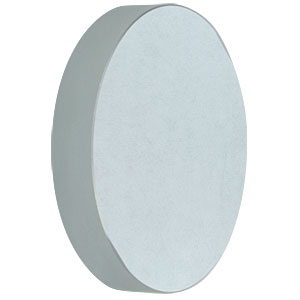 CM750-500-F01 - Ø75 mm UV-Enhanced Al-Coated Concave Mirror, f = 500.0 mm