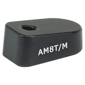 AM8T/M - 8° Angle Block, M4 Tap, M4 Post Mount