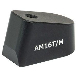 AM16T/M - 16° Angle Block, M4 Tap, M4 Post Mount