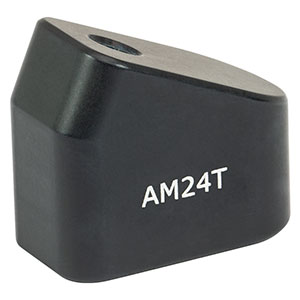 AM24T - 24° Angle Block, 8-32 Tap, 8-32 Post Mount