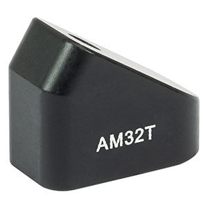 AM32T - 32° Angle Block, 8-32 Tap, 8-32 Post Mount