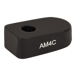 AM4C - 4° Angle Block, #8 Counterbore, 8-32 Post Mount