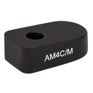 AM4C/M - 4° Angle Block, M4 Counterbore, M4 Post Mount