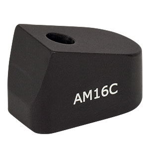 AM16C - 16° Angle Block, #8 Counterbore, 8-32 Post Mount