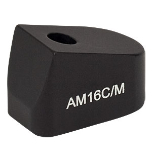AM16C/M - 16° Angle Block, M4 Counterbore, M4 Post Mount