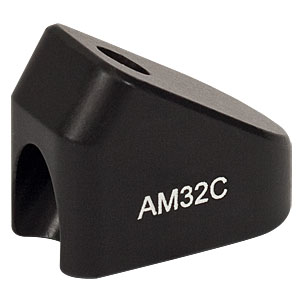 AM32C - 32° Angle Block, #8 Counterbore, 8-32 Post Mount