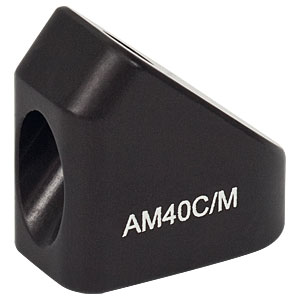 AM40C/M - 40° Angle Block, M4 Counterbore, M4 Post Mount