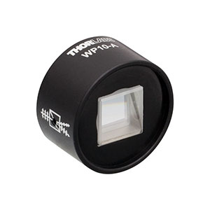 WP10-A - Wollaston Prism, 20° Beam Separation, 350 - 700 nm AR-Coated Calcite