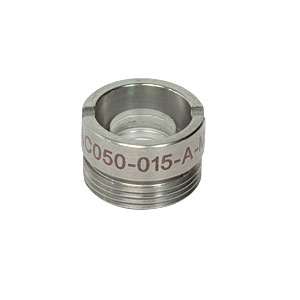 AC050-015-A-ML - f=15 mm, Ø5 mm Achromatic Doublet, M9x0.5 Threaded Mount, ARC: 400-700 nm
