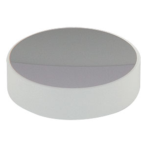 CM254-075-E02 - Ø1in Dielectric-Coated Concave Mirror, 400 - 750 nm, f = 75 mm