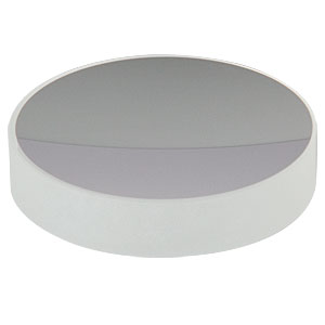 CM508-100-E02 - Ø2in Dielectric-Coated Concave Mirror, 400 - 750 nm, f = 100 mm