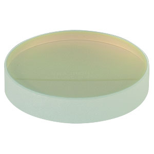 CM508-200-E04 - Ø2in Dielectric-Coated Concave Mirror, 1280 - 1600 nm, f = 200 mm