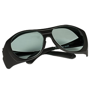 LG11 - Laser Safety Glasses, Clear Lenses, 75% Visible Light Transmission
