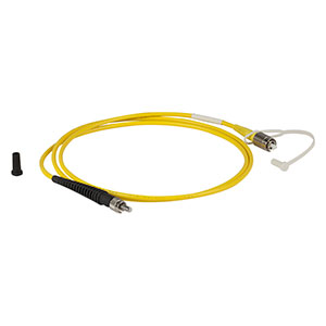 P2-2000-PCSMA-1 - Single Mode Patch Cable, 1700 - 2300 nm, FC/PC to SMA, Ø3 mm Jacket, 1 m Long