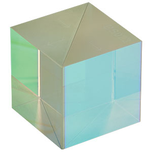 BS023 - 70:30 (R:T) Non-Polarizing Beamsplitter Cube, 700 - 1100 nm, 1in