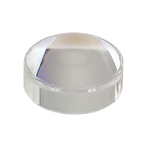 355392-C - f = 2.75 mm, NA = 0.64, Unmounted Geltech Aspheric Lens, AR: 1050-1620 nm