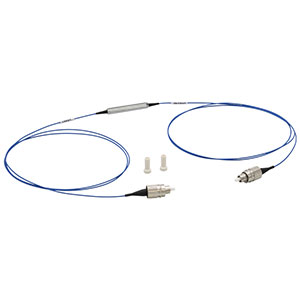ILP1310PM-FC - In-Line Fiber Polarizer, 1310 ± 50 nm, PM/PM Pigtail, FC/PC