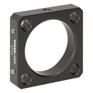 CP12 - 30 mm Cage Plate, Ø1.2in Double Bore for SM1 and C-Mount Lens Tubes