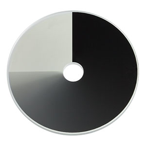 NDC-50C-2-B - Unmounted Continuously Variable ND Filter, Ø50 mm, OD: 0-2.0, ARC: 650 - 1050 nm