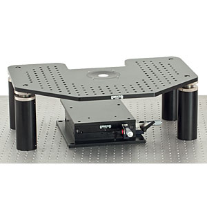 G-2FS - Manual Gibraltar Stage for Zeiss Axioskop 2FS Microscopes, Aluminum Platform w/o Base Plate