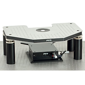 GH-BX - Manual Gibraltar Stage for Olympus Microscopes, Stainless Steel Platform w/o Base Plate