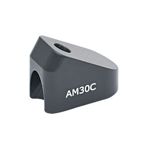 AM30C - 30° Angle Block, #8 Counterbore, 8-32 Post Mount