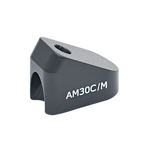 AM30C/M - 30° Angle Block, M4 Counterbore, M4 Post Mount