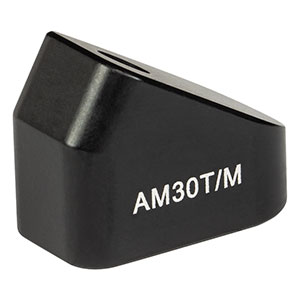 AM30T/M - 30° Angle Block, M4 Tap, M4 Post Mount