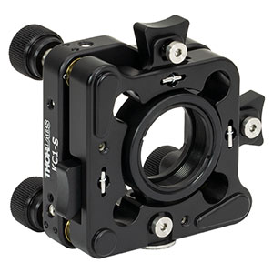 KC1-S - Kinematic, SM1-Threaded, 30 mm-Cage-Compatible Mount with Slip Plate for Ø1in Optic