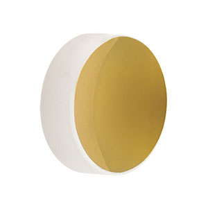 CM127-010-M01 - Ø1/2in Gold-Coated Concave Mirror, f = 9.5 mm
