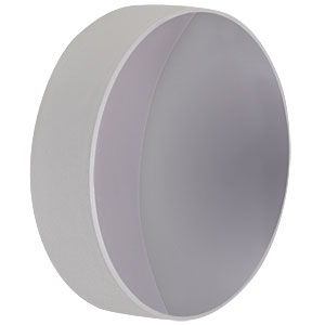 CM508-038-F01 - Ø2in UV-Enhanced Al-Coated Concave Mirror, f = 38.1 mm