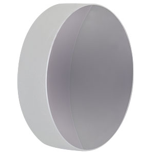 CM750-056-G01 - Ø75 mm Aluminum-Coated Concave Mirror, f = 56.25 mm