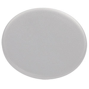 DGUV10-220 - Ø1in UV Fused Silica Ground Glass Diffuser, 220 Grit