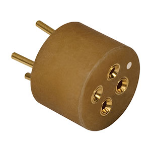 S8060-4 - Laser Diode Socket For 9 mm Laser, 4 Pin