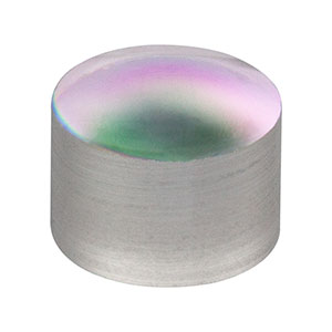 A414-C - f = 3.3 mm, NA = 0.47, Unmounted Rochester Aspheric Lens, AR: 1050-1620 nm