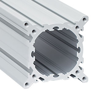 XT95-1000 - 95 mm Construction Rail, Clear Anodized, L = 1000 mm