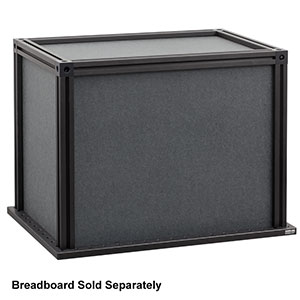XE25C1 - (L x W x H) 15in x 9in x 12in Enclosure with Black Hardboard