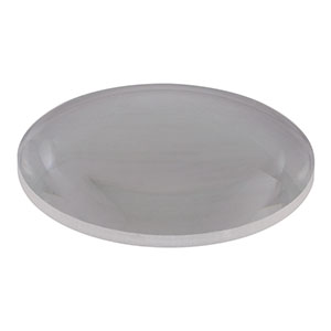 LE4125 - Ø2in UV Fused Silica, + Meniscus Lens, f = 150.0 mm, Uncoated