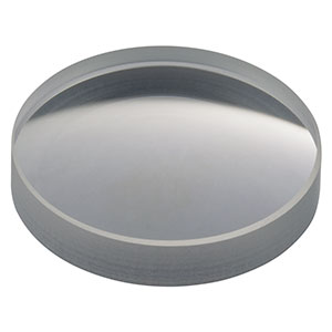 LF4938 - f = -100.0 mm, Ø1in UV Fused Silica, Negative Meniscus Lens, Uncoated