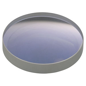 LF4370 - f = -150.0 mm, Ø1in UV Fused Silica, Negative Meniscus Lens, Uncoated