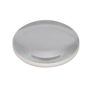 LA1134-A - N-BK7 Plano-Convex Lens, Ø1in, f = 60.0 mm, AR Coating: 350 - 700 nm