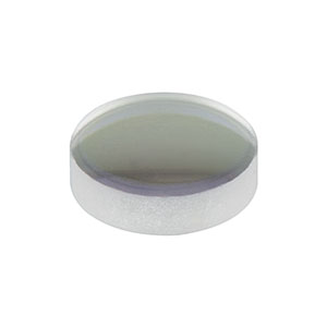 LA1222-B - N-BK7 Plano-Convex Lens, Ø6.0 mm, f = 15.0 mm, AR Coating: 650 - 1050 nm