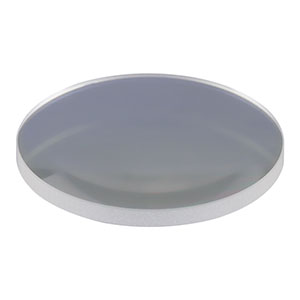 LA1986-B - N-BK7 Plano-Convex Lens, Ø1in, f = 125.0 mm, AR Coating: 650 - 1050 nm