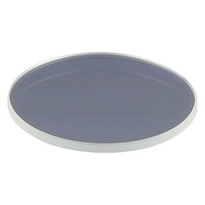 LA1779-B - N-BK7 Plano-Convex Lens, Ø2in, f = 1000 mm, AR Coating: 650 - 1050 nm