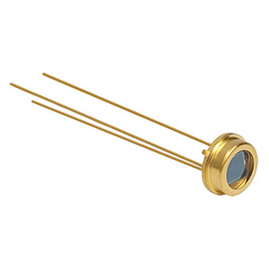FDS100 - Si Photodiode, 10 ns Rise Time, 350 - 1100 nm, 3.6 mm x 3.6 mm Active Area