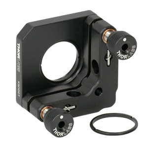 KM100T - SM1-Threaded Kinematic Mount for Thin  Ø1in Optics