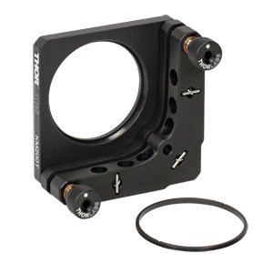 KM200T - SM2-Threaded Kinematic Mount for Thin  Ø2in Optics