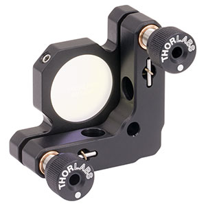 KM100-E03 - Kinematic Mount for Ø1in Optics with Near IR Laser Quality Mirror
