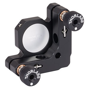 KM100-E02 - Kinematic Mirror Mount for Ø1in Optics with Visible Laser Quality Mirror
