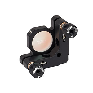 KM100-E04 - Kinematic Mirror Mount for Ø1in Optics with 1.2 to 1.6 µm Laser Quality Mirror